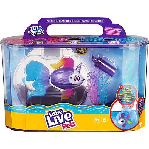 Игровой набор Little live pets Рыбка-единорожка в аквариуме Lil' Dippers от Moose