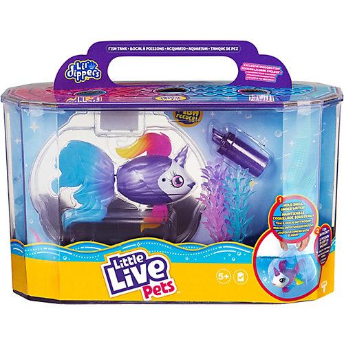 Игровой набор Little live pets Рыбка-единорожка в ...