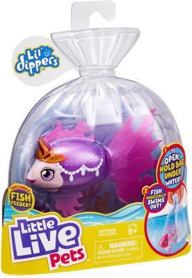 Little Live Pets Lil Dipper interaktiver Fisch - Seaqueen rosa/lila