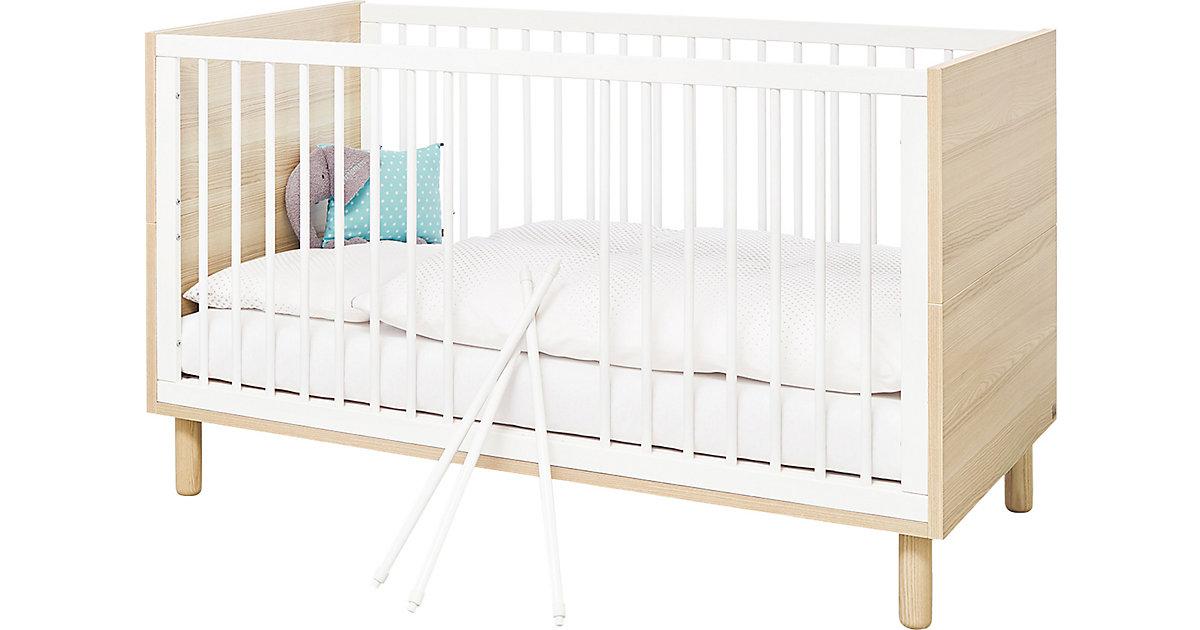 Kinderbett Flow, weiß, 70 x 140 cm