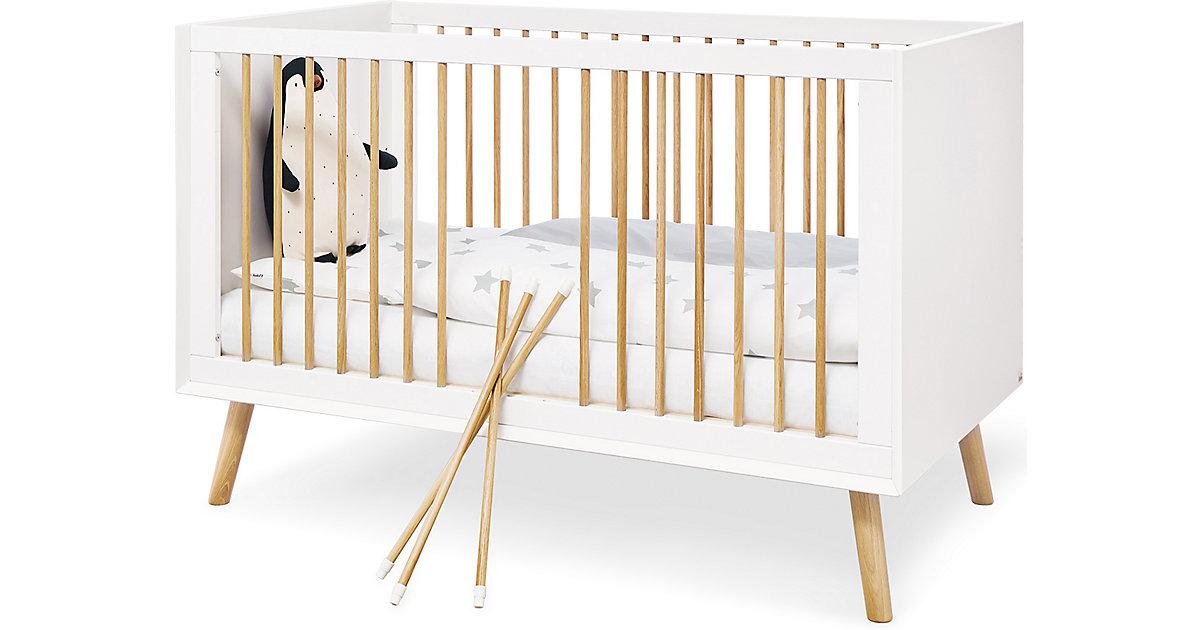 Kinderbett Edge, weiß, 70 x 140 cm