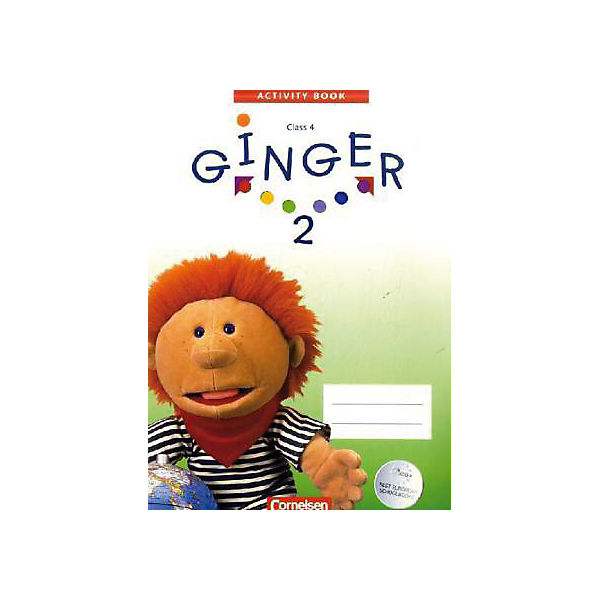 Ginger, West-Ausgabe: Activity Book, Class 4, m. CD-ROM (Demoversion) Bd.2