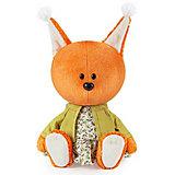Мягкая игрушка Budi Basa Белка  Бика в платье и курточке, 15 см