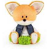 Мягкая игрушка Budi Basa Лисичка Лика в юбке и безрукавке, 15 см