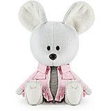 Мягкая игрушка Budi Basa Мышка Пшоня в сером платье и курточке, 15 см