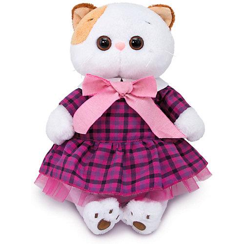 Одежда для мягкой игрушки Budi Basa Платье в клетку с розовым бантом, 24 см от Budi Basa