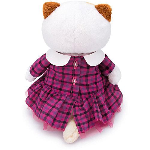 Одежда для мягкой игрушки Budi Basa Платье в клетку с розовым бантом, 27 см от Budi Basa