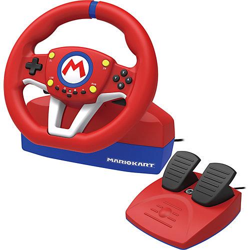 Руль Hori Nintendo Switch Mario Kart racing wheel pro, NSW-204U