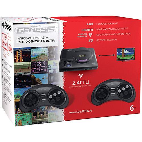 Игровая приставка Sega Retro Genesis HD Ultra ZD-06, 50 игр от SEGA