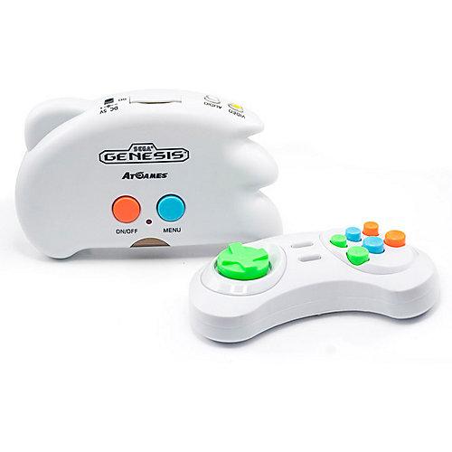 Игровая приставка Sega Retro Genesis Genesis Nano Trainer, 40 игр