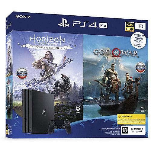 Игровая приставка Sony PlayStation 4 1TB PRO, CUH-7208B от Sony