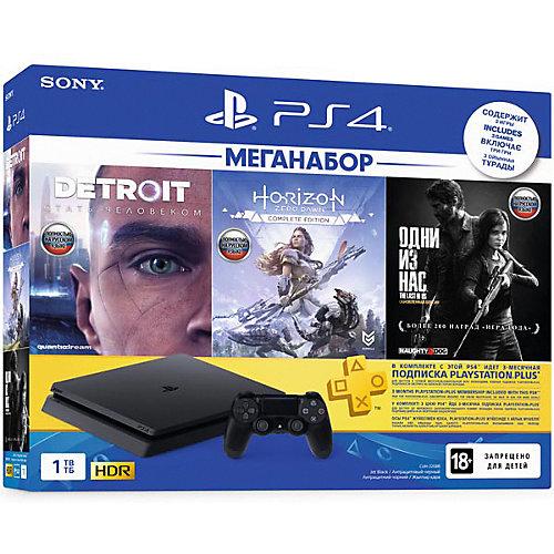 Игровая приставка Sony PlayStation 4 1TB Slim, CUH-2208B