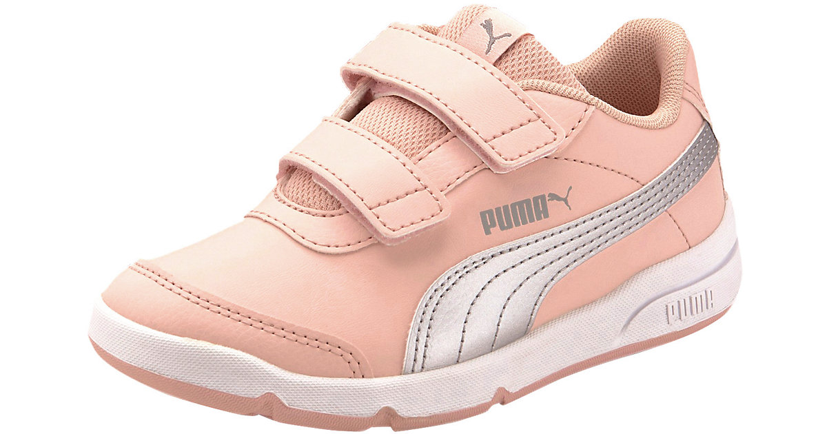 puma Stepfleex 2 SL VE V sportschoenen, Roze/Groen/Zilver31