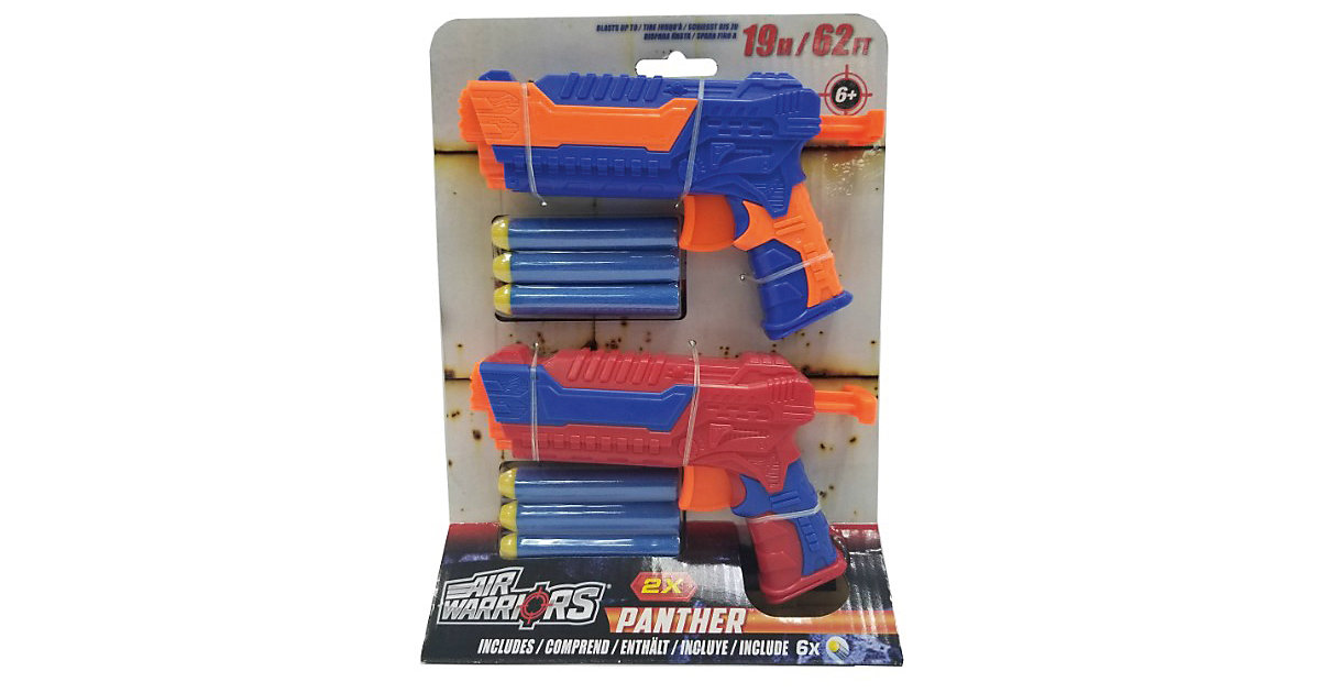 Panther Blaster Doppelpack inkl. 6 Darts