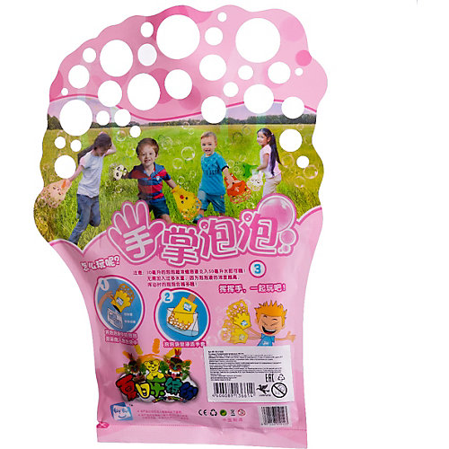 """Мыльные пузыри-перчатка Junfra """"Зайка"""" от Junfa Toys"""