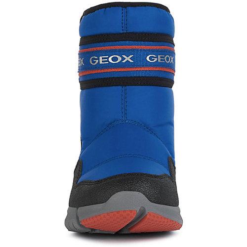 Утеплённые сапоги Geox - синий/красный от GEOX