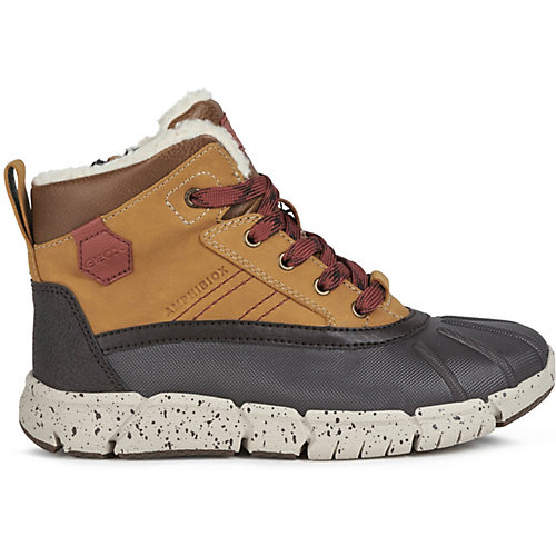 Утеплённые ботинки Geox - braun/rot от GEOX