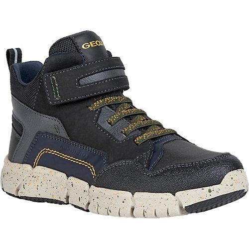 Утеплённые ботинки Geox - schwarz/grün от GEOX (15836079) купить за 6990 руб. в интернет-магазине myToys.ru!