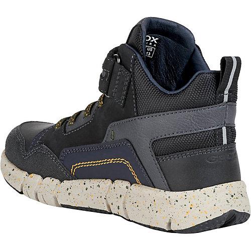 Утеплённые ботинки Geox - schwarz/grün от GEOX