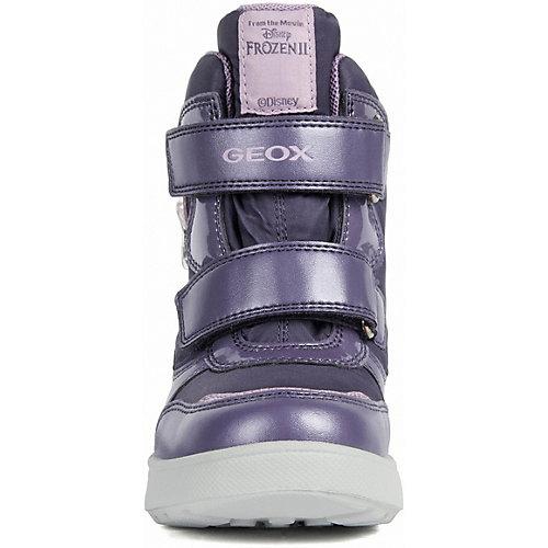 Утепленные сапоги Geox - фиолетовый от GEOX