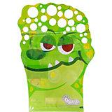 """Мыльные пузыри-перчатка  Junfra """"Крокодил"""""""