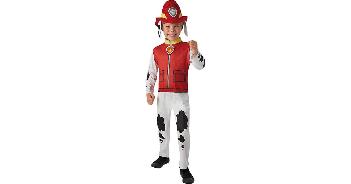 Kostüm Marshall Classic Gr. T rot Gr. 92/98 Jungen Kleinkinder
