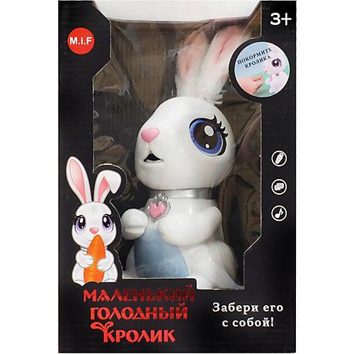 Интерактивная игрушка M.i.F. Маленький голодный кролик от M.i.F