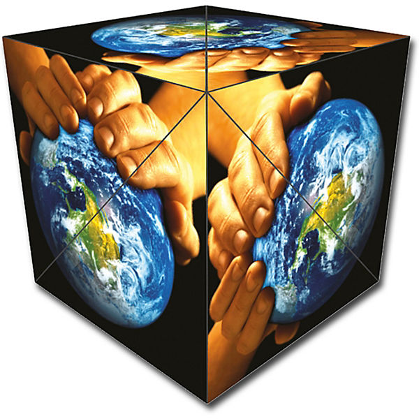 "GeoBender® Cube ""World"""