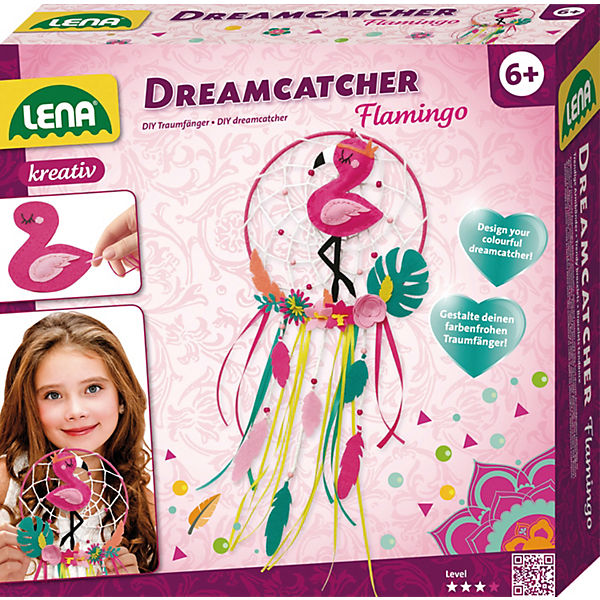 Dreamcatcher Flamingo