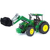Трактор John Deere 7930 с погрузчиком
