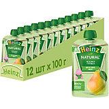 Пюре Heinz нежная грушка, с 4 мес, 12 штук
