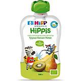 Пюре HiPP HiPPis груша, банан, киви, с 8 мес, 6 шт