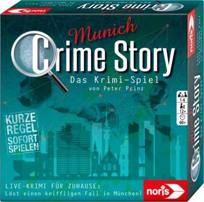 Crime Story - München, Detektiv-Spiel - Live-Krimi Zuhause  Kinder