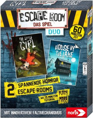 Escape Room Duo Horror - zwei spannende Spiele - House by the Lake & The little Girl