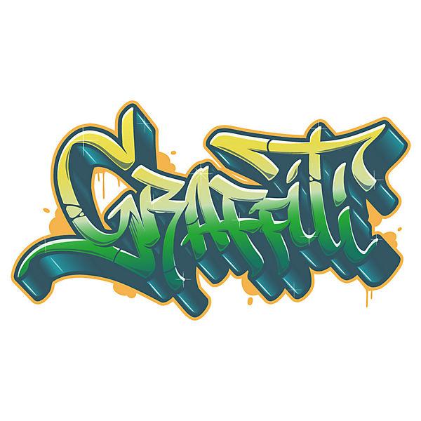 Wandtattoo Graffiti Schriftzug Dekodino Mytoys