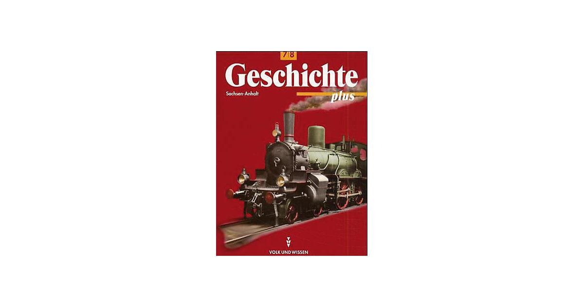 Geschichte plus: Lehrbuch, Ausgabe Sachsen-Anhalt