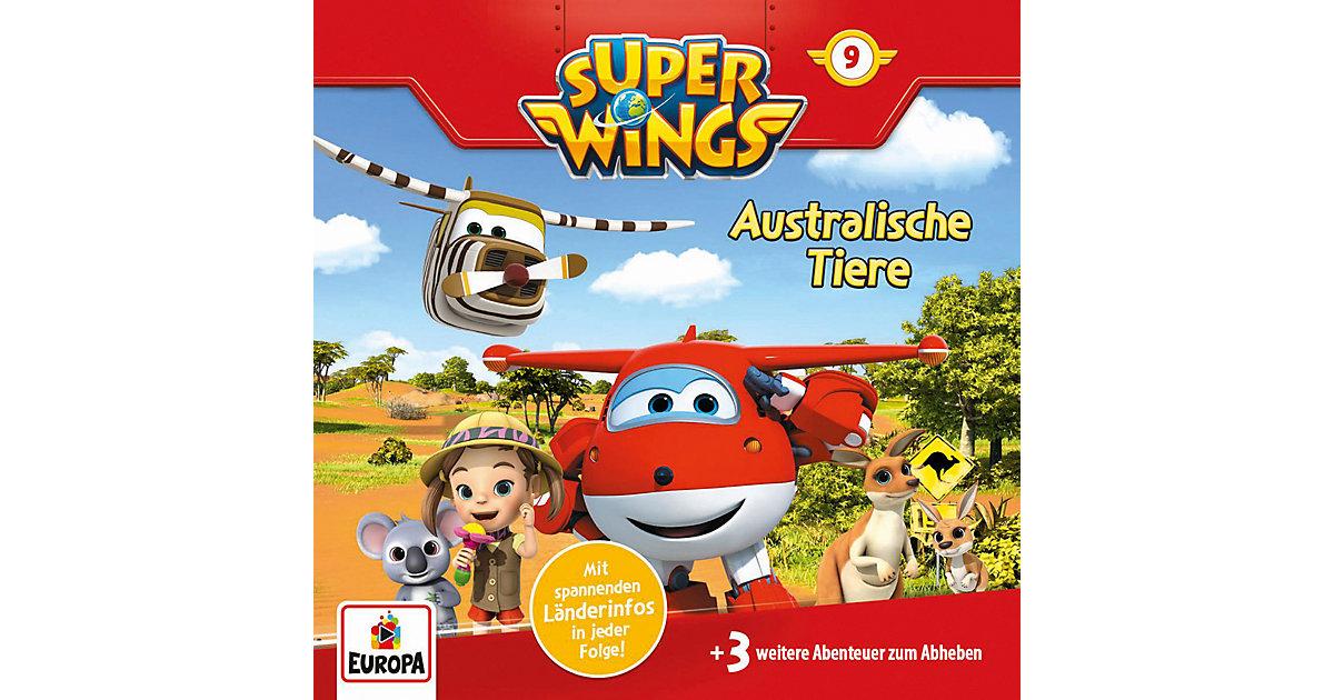 CD Super Wings 09 - Australische Tiere Hörbuch