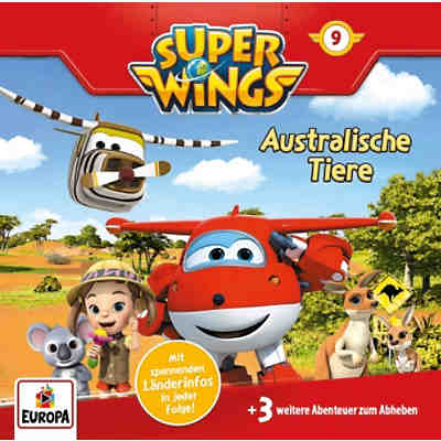 CD Super Wings 09 - Australische Tiere