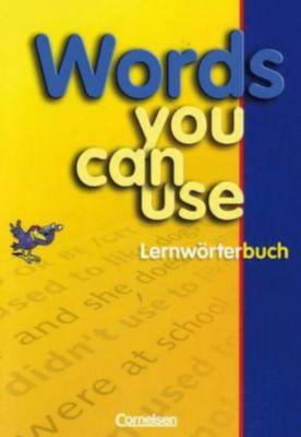 Buch - Words You Can Use, Lernwörterbuch
