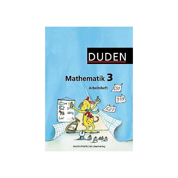 Duden Mathematik, Ausgabe Grundschule östliche Bundesländer: 3 ...