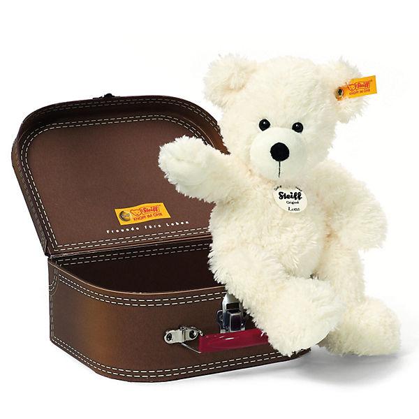 steiff teddyb r lotte 28 cm weiss im koffer steiff mytoys. Black Bedroom Furniture Sets. Home Design Ideas