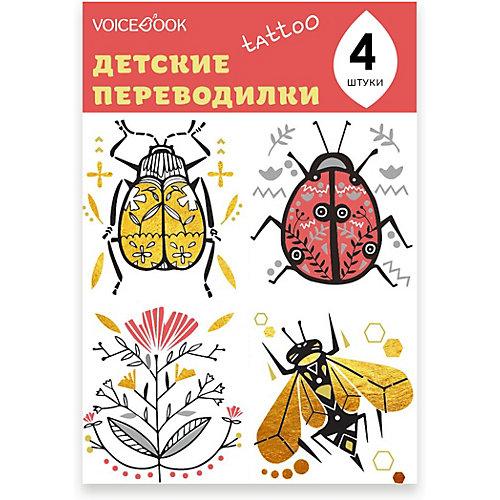 """Татуировка-переводилка """"Скоробей и Пчела"""" от VoiceBook"""