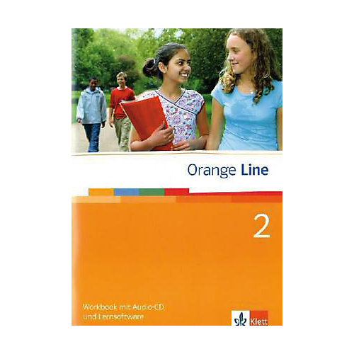 Orange Line: Klasse 6, Workbook m. Audio-CD u. CD-ROM Bd.2