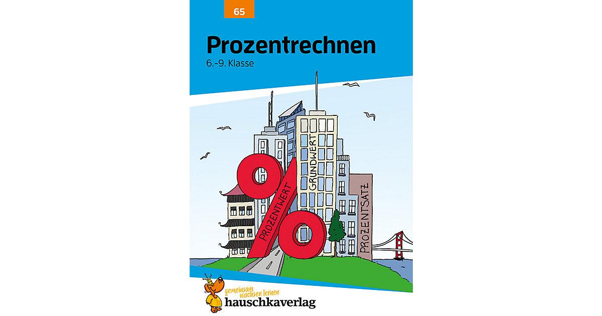 Hauschka Verlag · Prozentrechnen, Gemischte Textaufgaben