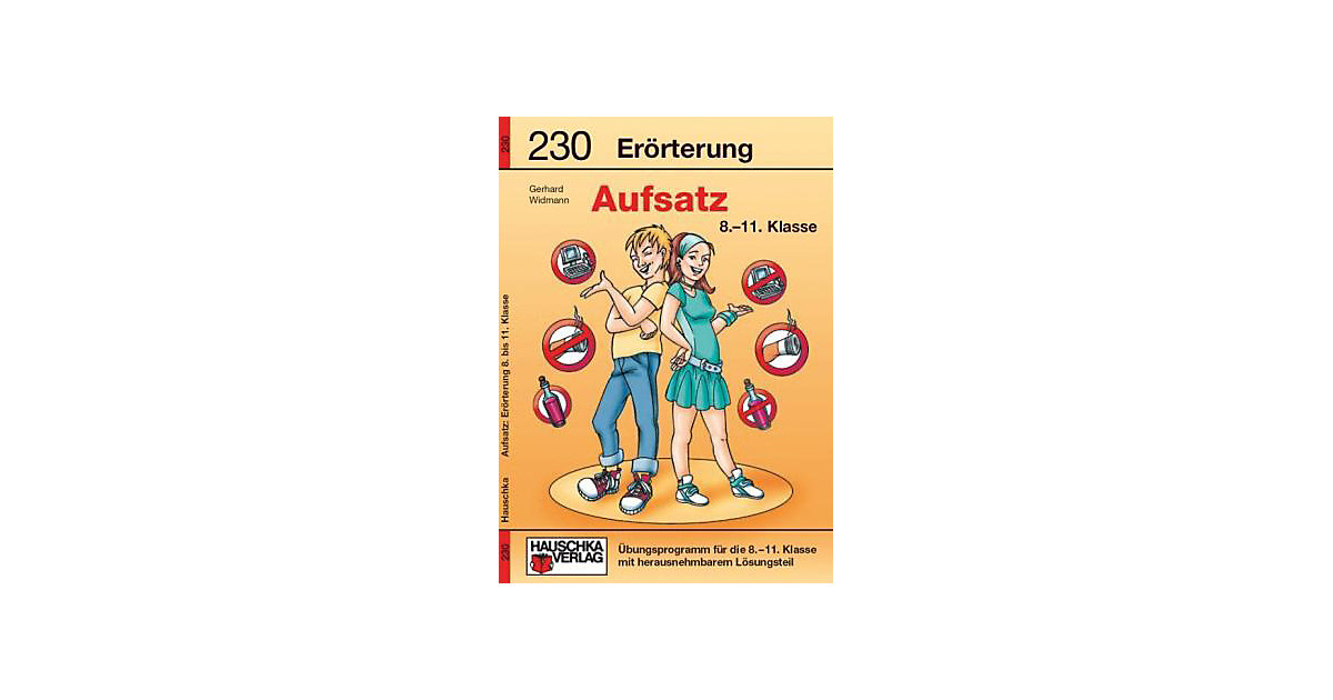 Hauschka Verlag · Aufsatz, Einführung in die Erörterung, bisherige Rechtschreibung
