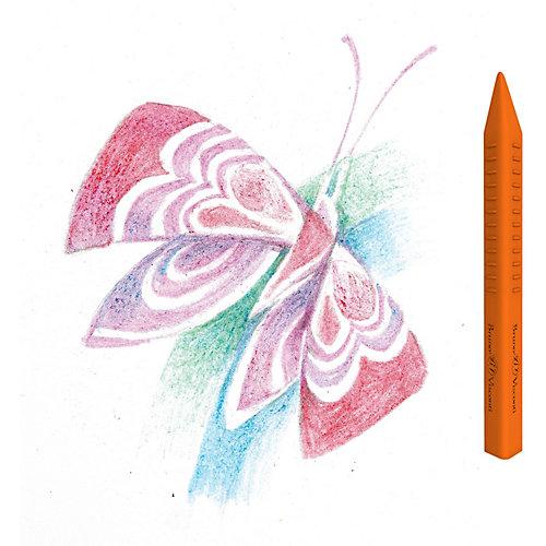 Восковые мелки Bruno Visconti Multicolor, 24 цвета от Bruno Visconti