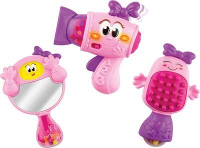 Baby Fashion Rassel Geschenkset rosa