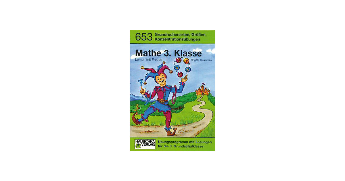 Hauschka Verlag · Mathe 3. Klasse