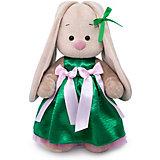 Одежда для мягкой игрушки Budi Basa Зеленое нарядное платье, 32 см