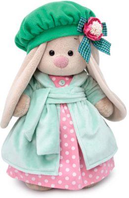 Одежда для мягкой игрушки Budi Basa Розовое платье с бирюзовым пальто и берет, 32 см